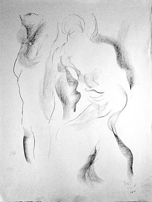 Drawing - Esq 2015-10-02-2 by Jean-Marc Robert