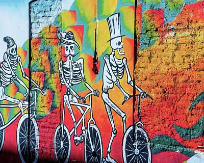 Photograph - Esqueletos En Bicicletas by Kent Nancollas