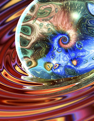 Esscence Of Life Art Print by Sandy Ostroff