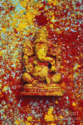 Essence Of Ganesha Art Print by Tim Gainey