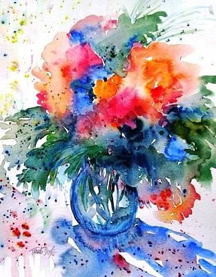 Painting - Essence Of Summer #2 by Trudi Doyle
