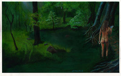 Painting - Essence Pond by Charles Bickel