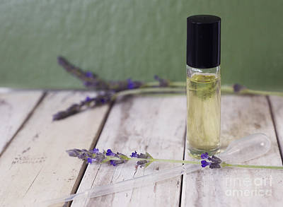 Photograph - Essential Oil And Lavender by Cindy Garber Iverson