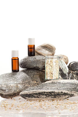 Spice Photograph - Essential Oil From Fennel by Wolfgang Steiner