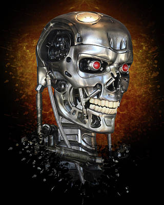 Photograph - Essential T-800  by Christopher McKenzie