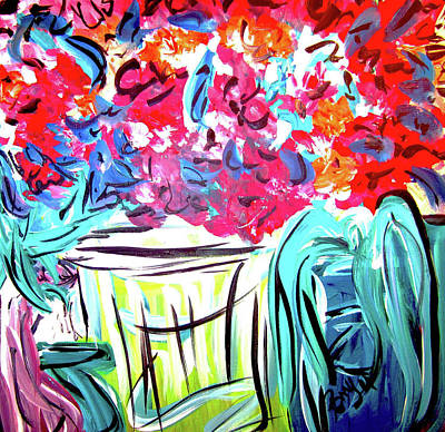 Painting - Essentials by Romy Kelly