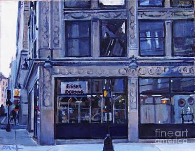 Boston Painting - Essex Corner by Deb Putnam