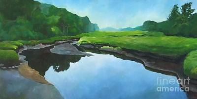 Painting - Essex Creek by Claire Gagnon