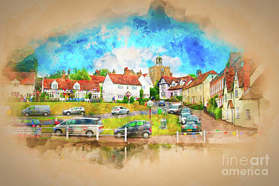 Photograph - Essex Finchingfield Uk by Jack Torcello