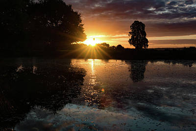Photograph - Essex Sunrise by Roger Lighterness
