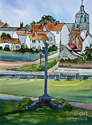 Essex Village In England Art Print by Dianne Green