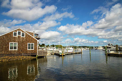 Essex Waterfront Art Print by Karol Livote