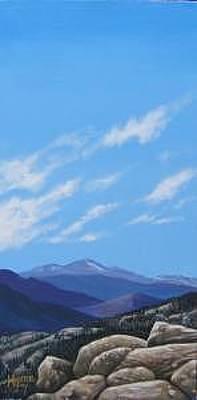 Estes Park Painting - Estes Overlook by Hunter Jay