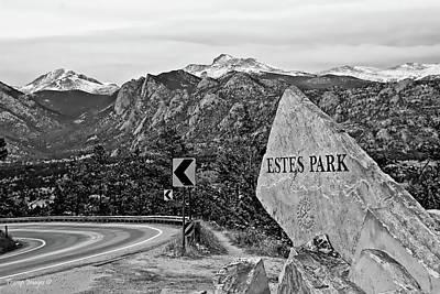 Photograph - Estes Park by Wesley Nesbitt