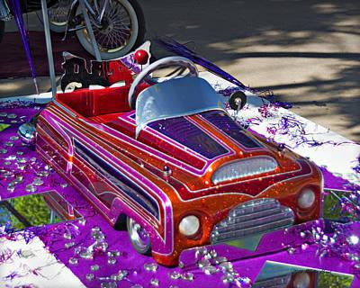 Photograph - Estilo Cc Pedal Car 1a by Walter Herrit