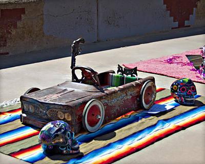Photograph - Estilo Cc Pedal Car 2a by Walter Herrit