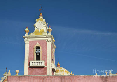 Europe Photograph - Estoi Palace Chapel Bell Tower by Angelo DeVal