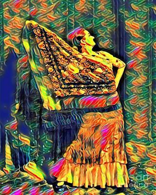 Flamenco Digital Art - Estrella 1 by Julie Pacheco-Toye