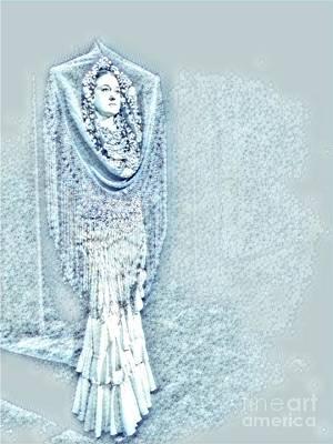 Flamenco Digital Art - Estrella 5 by Julie Pacheco-Toye