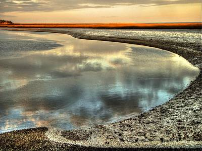 Photograph - Estuary by Betsy Zimmerli