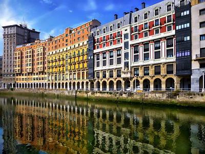 Photograph - Estuary Of Bilbao by Anthony Dezenzio