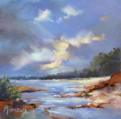 Painting - Estuary Peace by Rae Andrews
