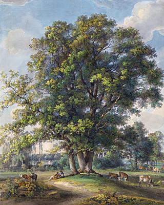 Painting -  Et In Arcadia Ego by Johann Georg von Dillis