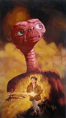 E.t. The Extra-terrestrial Original by Neil Feigeles
