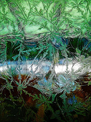Photograph - Etched Glass by Cindy Wright