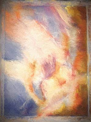 Zeus Painting - Etched Memory by Kathy Bassett
