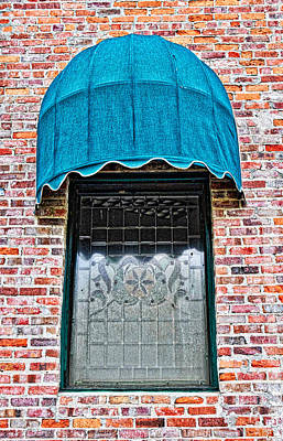 Photograph - Etched Window by Linda Brown