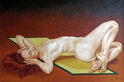 Painting - Eternal Beauty by Carl Owen
