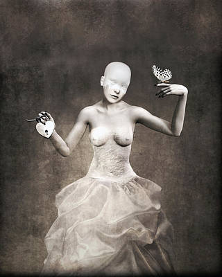 Sadness Digital Art - Eternal Bride by Jacky Gerritsen