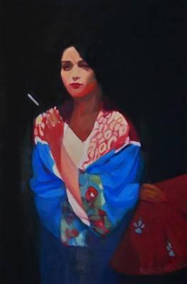Painting - Eternal Butterfly IIi by Irena Jablonski