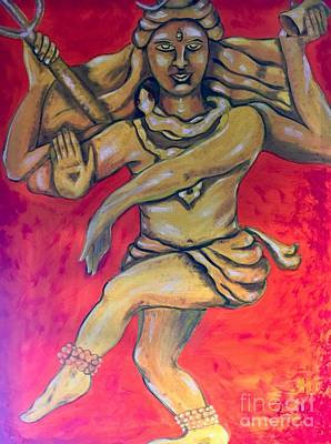 Painting - Eternal Dancer by Brindha Naveen