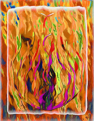 Mixed Media - Eternal Flame by Glenn McCarthy Art and Photography
