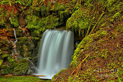 Photograph - Eternal Fountain Waterfall by Adam Jewell