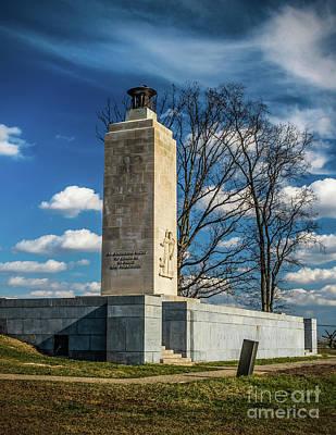 Photograph - Eternal Light Peace Memorial by Nick Zelinsky