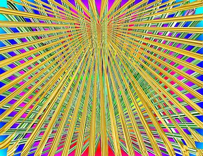 Digital Art - Eternal Loom by Tim Allen