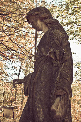 Photograph - Eternal Peace - Sleepy Hollow Cemetery by Colleen Kammerer
