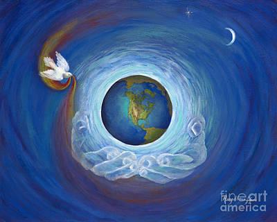 Painting - Eternal Presence by Pat Heydlauff