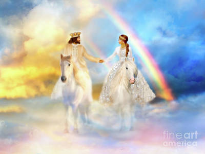 Promise Ring Digital Art - Eternal Promise  by Constance Woods