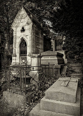 Too Cute For Words - Eternal Rest - Pere Lachaise Cemetery #3 by Stephen Stookey