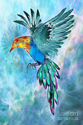 Fantasy Digital Art - Eternal Spirit by John Edwards