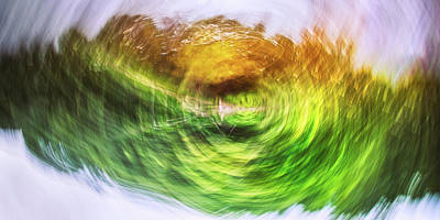 Abstract Airplane Art - Eternally Spinning by Scott Norris