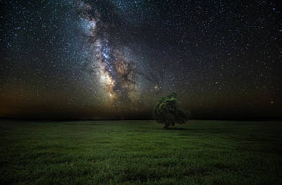 Galaxies Photograph - Eternity by Aaron J Groen