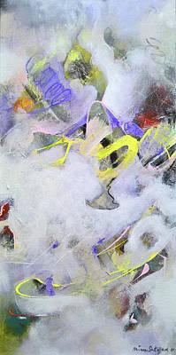 Painting - Eternity In Space by Mira Satryan