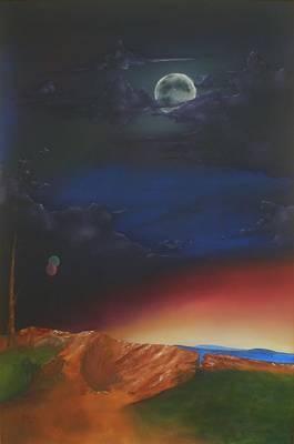 Eternity Art Print by Richard    J Thorpe