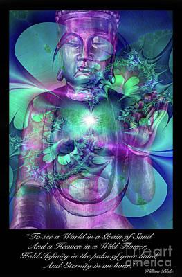 William Blake Digital Art - Eternity   by Tony Craddock