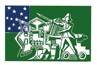 Ethan Allen Art Print